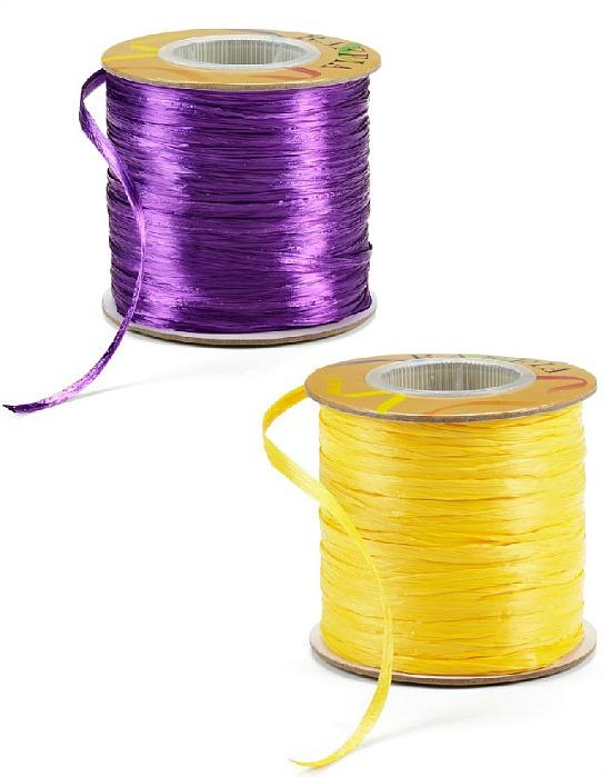 purple-gold-raffia