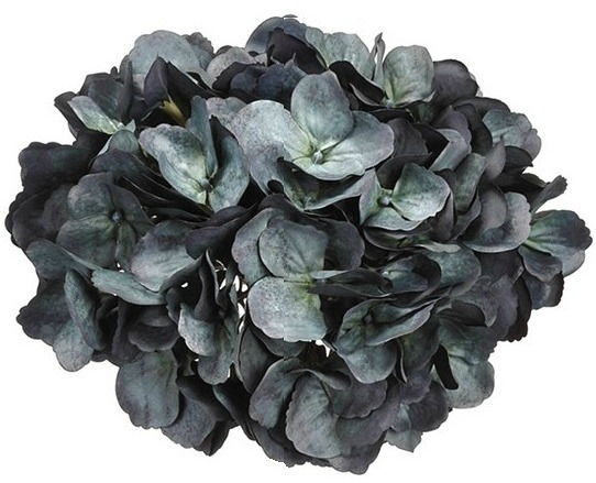 Dark Blue Hydrangea Spray