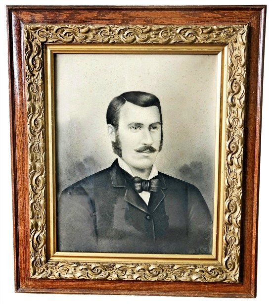 vintage-victorian-photograph-in-original-ornate-wood-frame