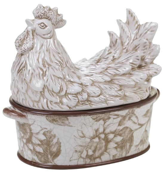Wills 3-D Rooster 1.31-qt. Vegetable Bowl