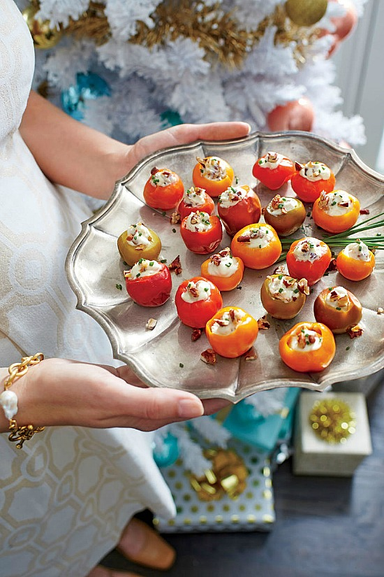 Blue Cheese-and-Pecan Stuffed Cherry Peppers Recipe