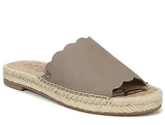 Sam Edelman Andy Leather Espadrille Sandals