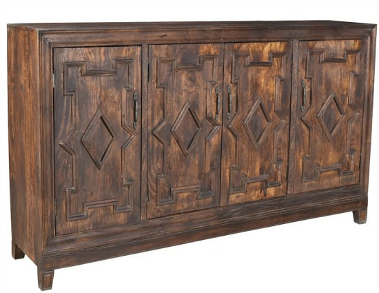 Carole 4 Door Sideboard
