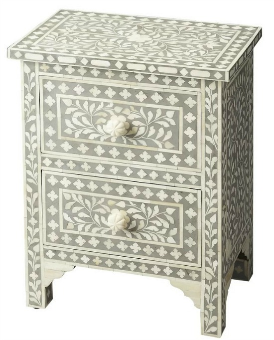Denton 2 Drawer Accent Chest