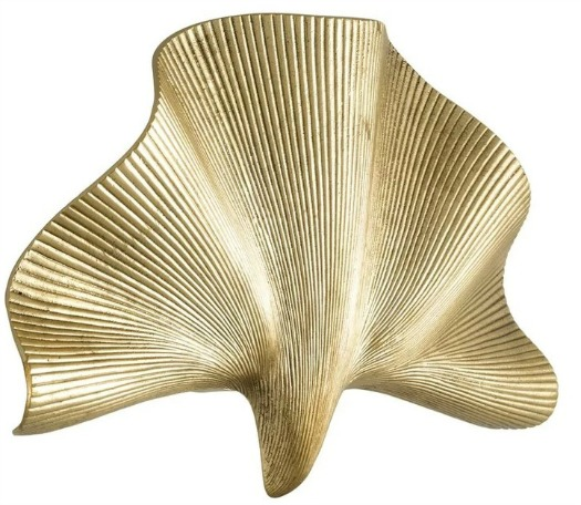 Olivier Shell-Shaped 1-Light Flush Mount
