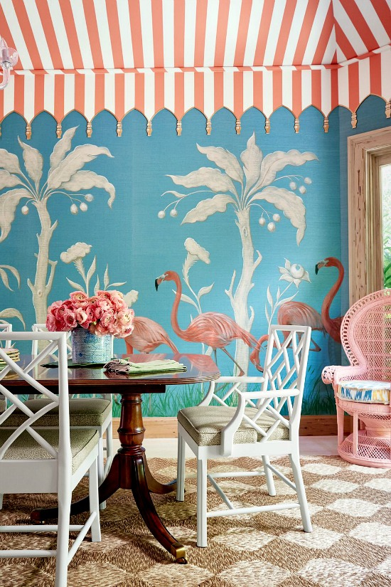 Sarah-Gilbane -painted-wallpaper