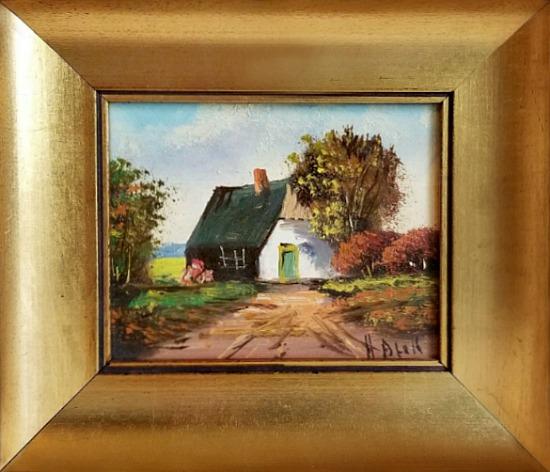 Vintage H. Blok Original Oil Painting