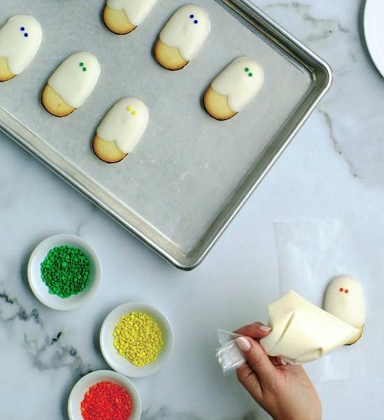 Milano mummy cookies