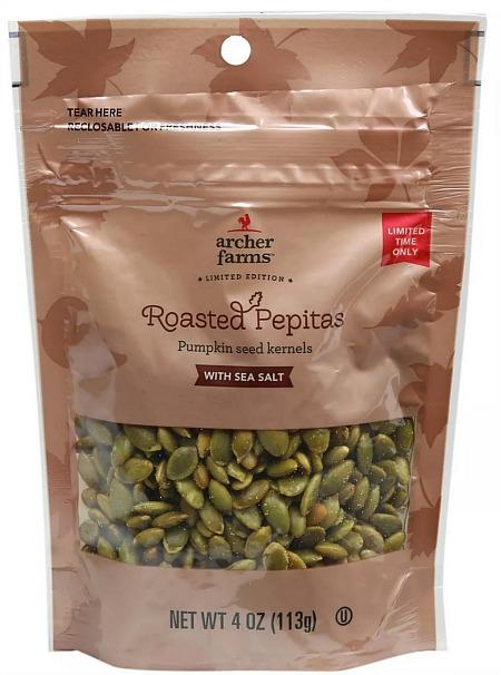 Roasted Pepitas Pumpkin Seed Kernels with Sea Salt