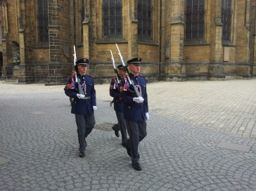 The Castle Guards are out looking for me...