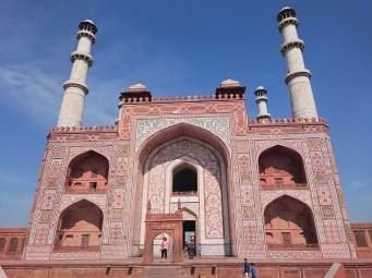 Gateway at Sikandra