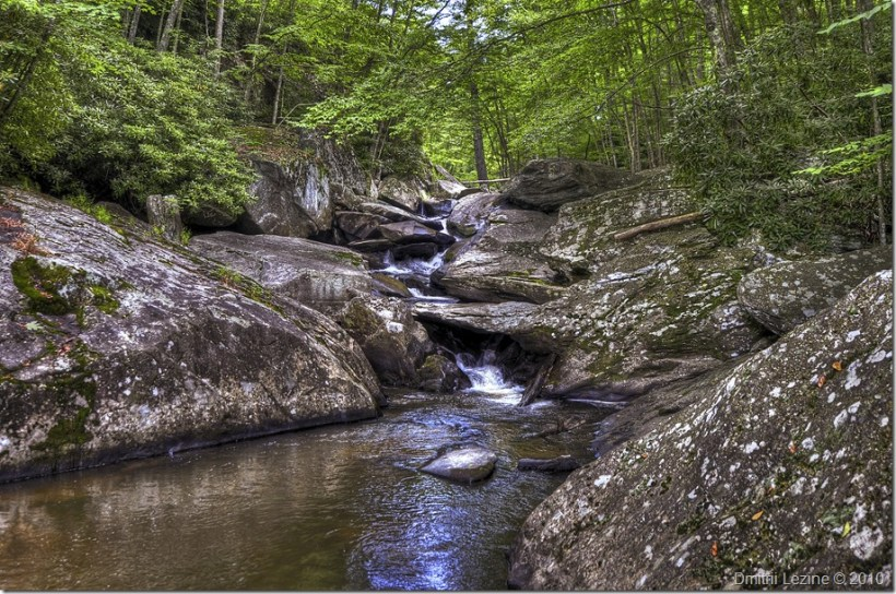 Mountain Creek - Click here to open it in my Photo Gallery
