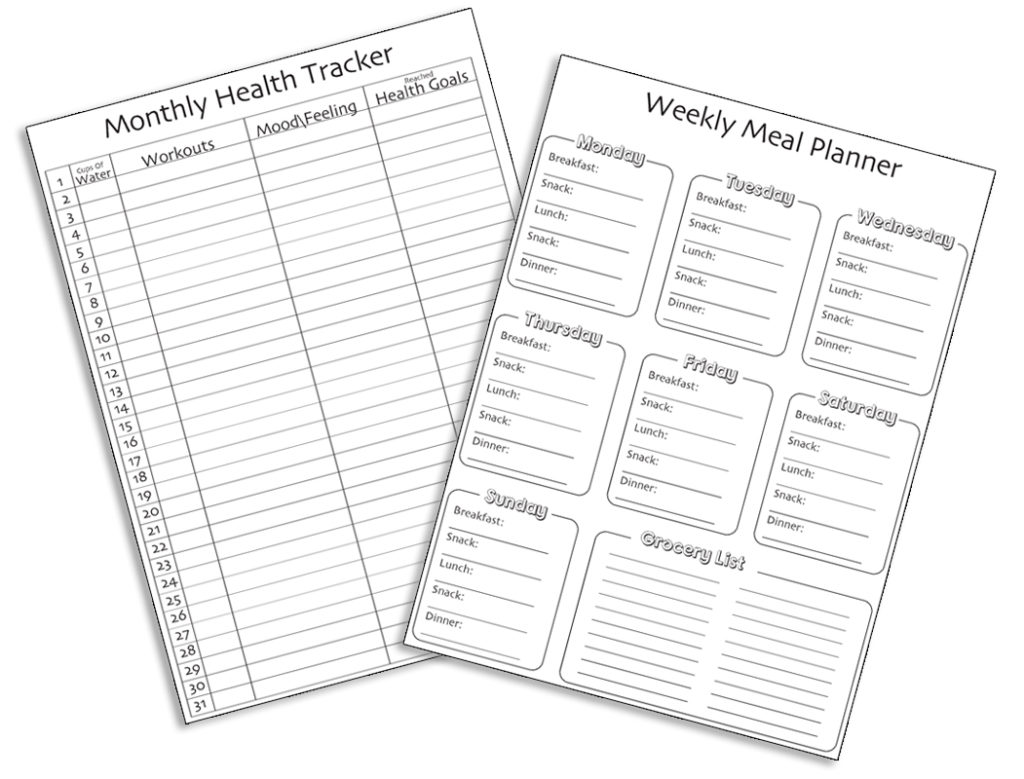 How To Achieve Your Health Goals A Free Printable Worksheet