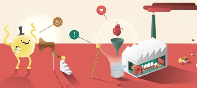 ¿Cómo es el proceso de creación de una idea?