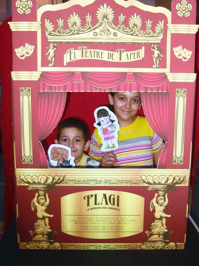 Marionetas de Rasca y de Yo.