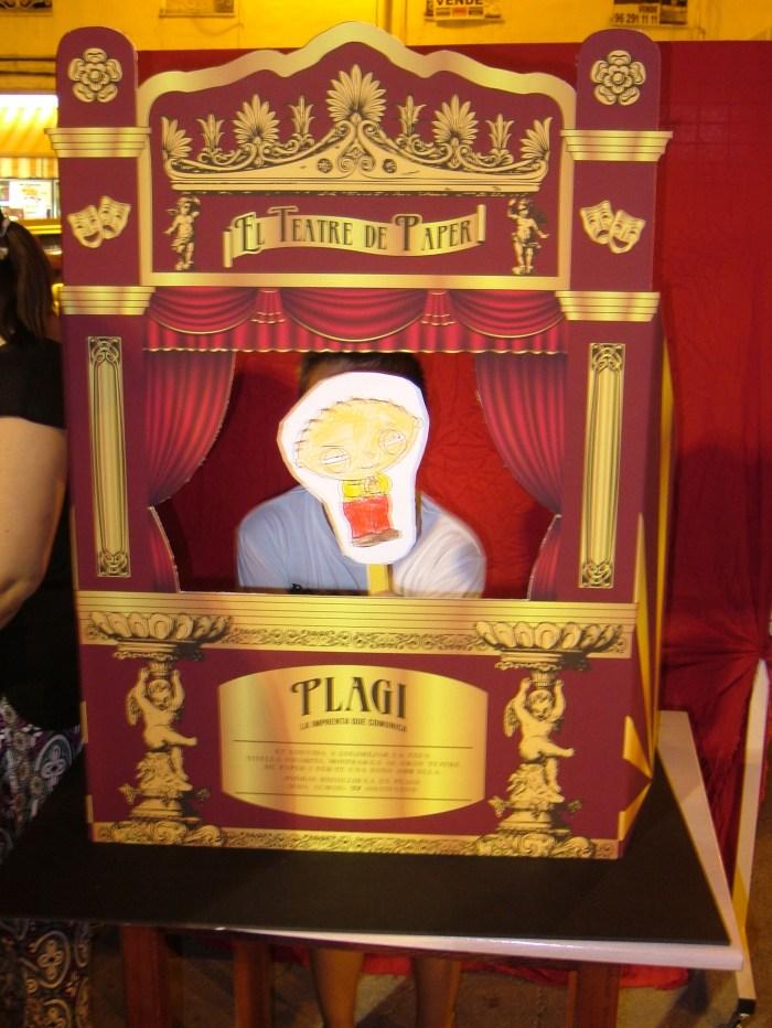 Marioneta de Stewie Griffin.