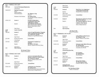 Invitation & Programme