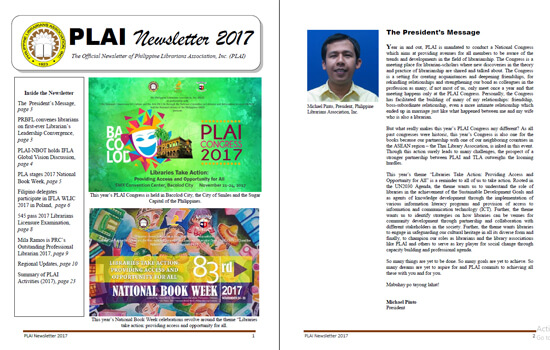 PLAI Newsletter 2017
