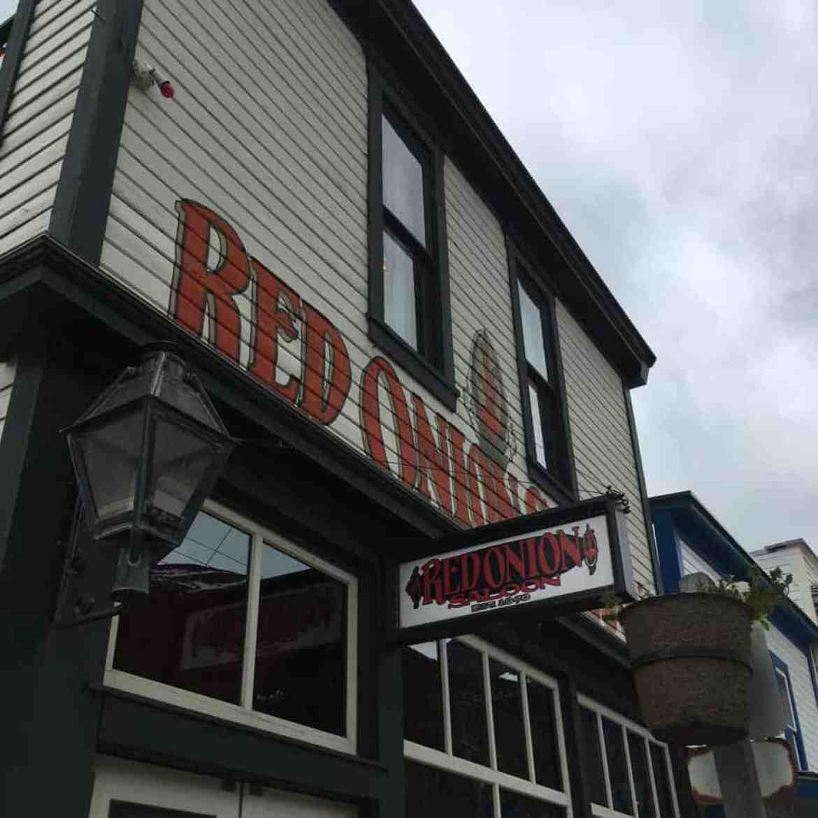 Click to read about excursion from the Alaskan Cruise Disney Wonder in Skagway. I visited the Yukon Pass, Liarsville, Red Onion Saloon, and drank Spruce Tip Beer!