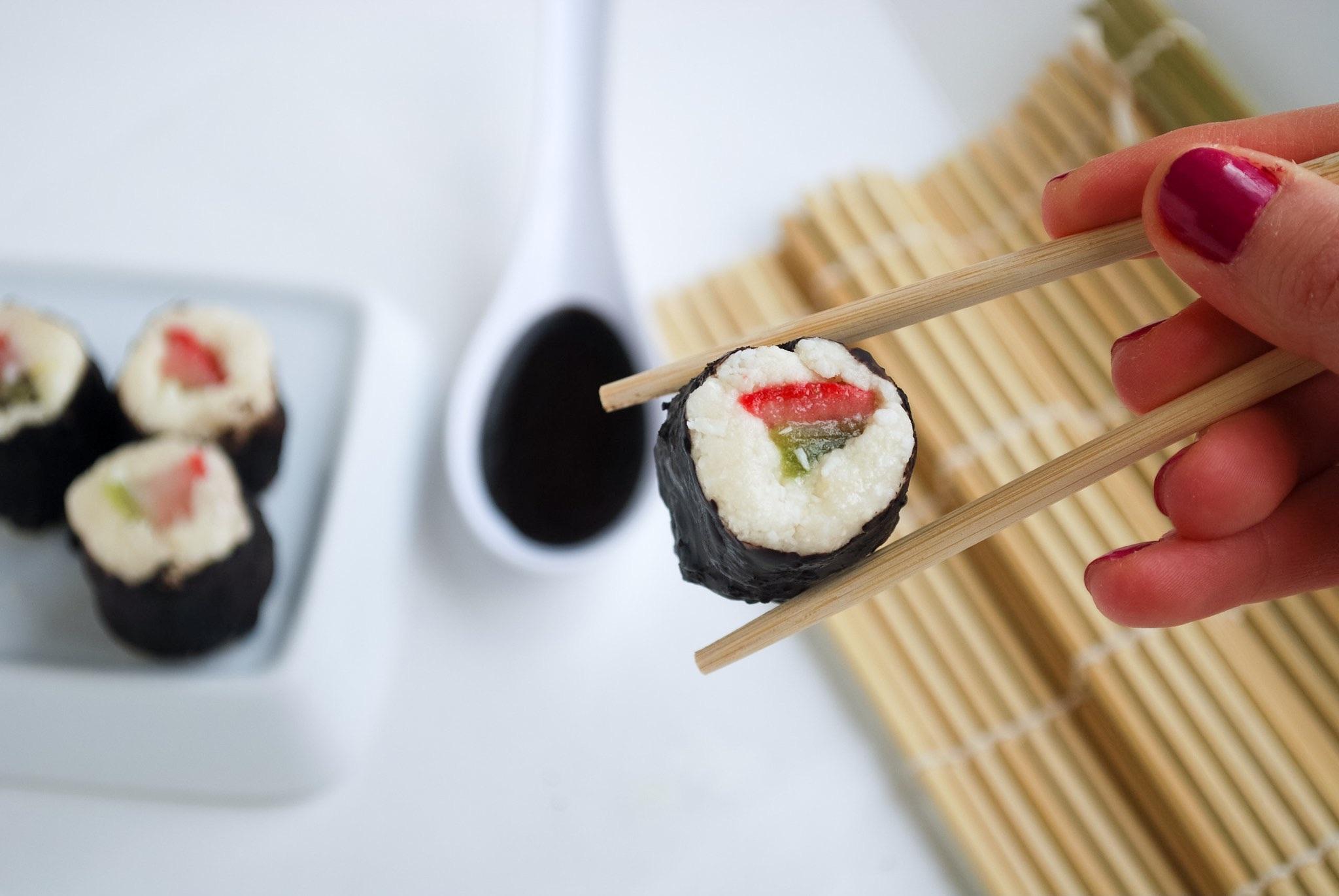Tootsie Roll Sushi