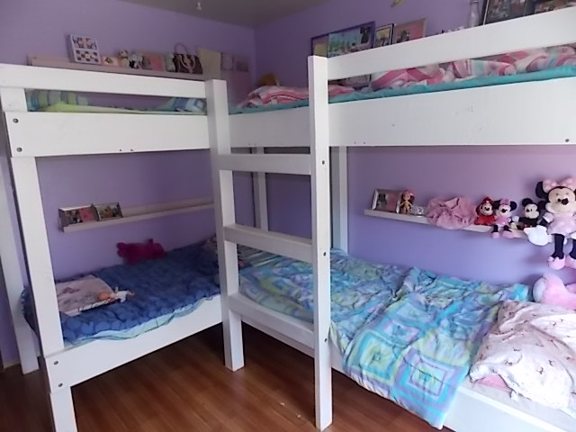 Stunning We came up with these quadruple bunk beds They are heavy duty and super durable We will be having these bunk beds for the rest of our lives
