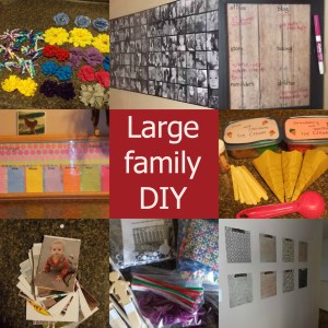 large family diy