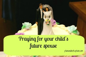 praying for future spouse