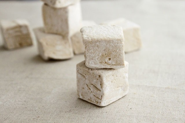 Homemade Maple Marshmallows
