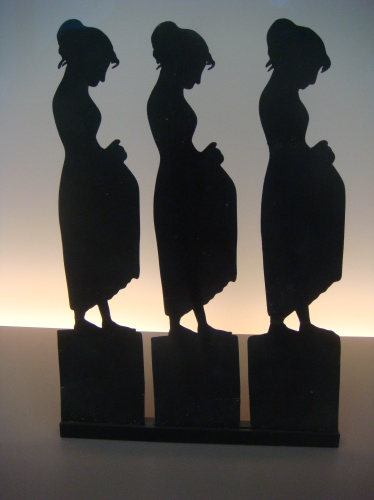 Just a shadow: From Le Chat Noir, shadow theater