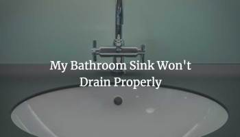 How To Unclog A Bathtub Drain With Standing Water