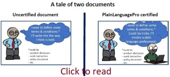 A tale of two documents