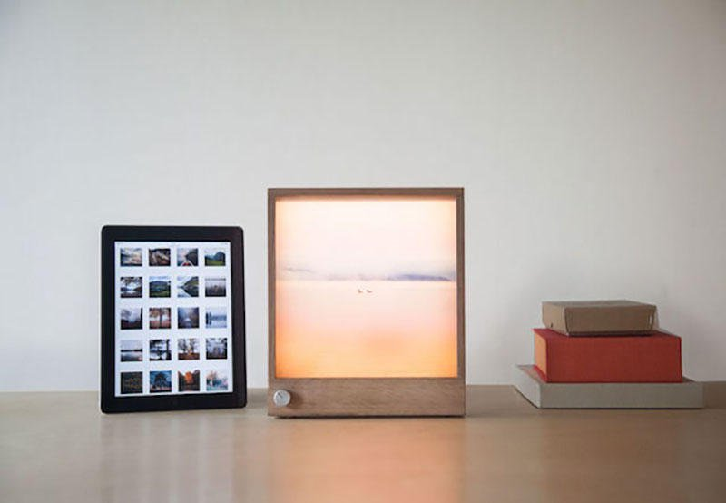 This is the best photo frame concept we\'ve seen yet. - PLAIN Magazine