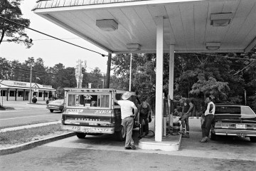 David Freund Gas Station Photography