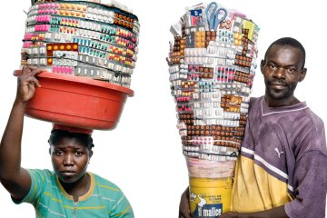 Haiti Street Vendors Medicine Photography