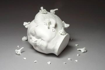 Made in China Keiko Fukazawa Art Porcelain