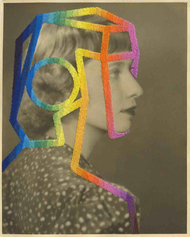 Julie Cockburn Embroidery Art