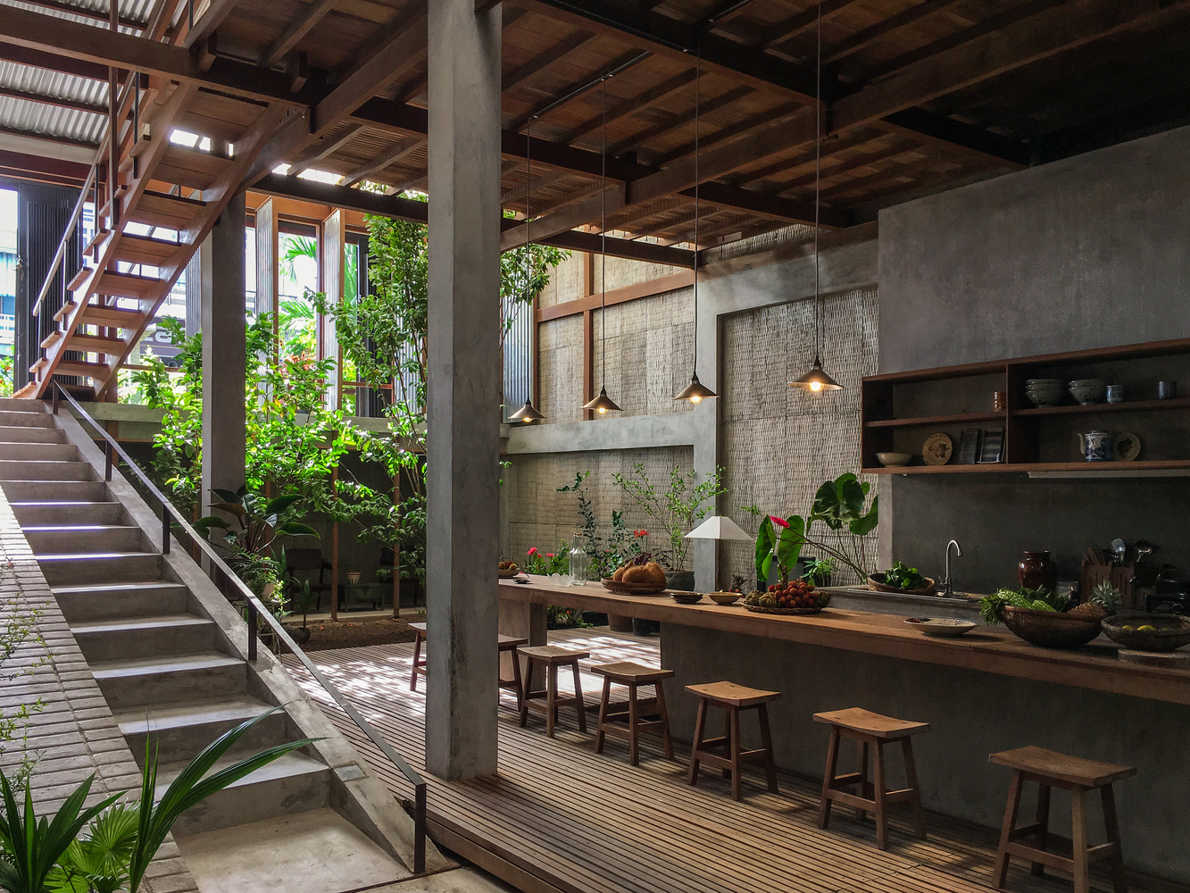 A gorgeous three-family home in rural Vietnam - PLAIN Magazine