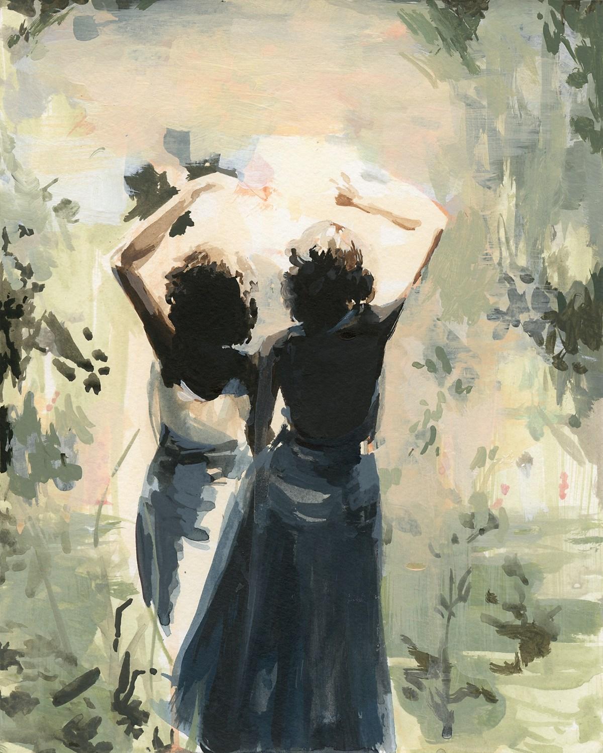 Clare Elsaessr Painting Art