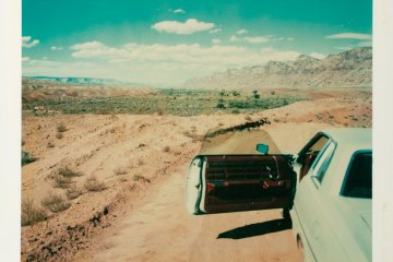 Wim Wenders Polaroids Photography