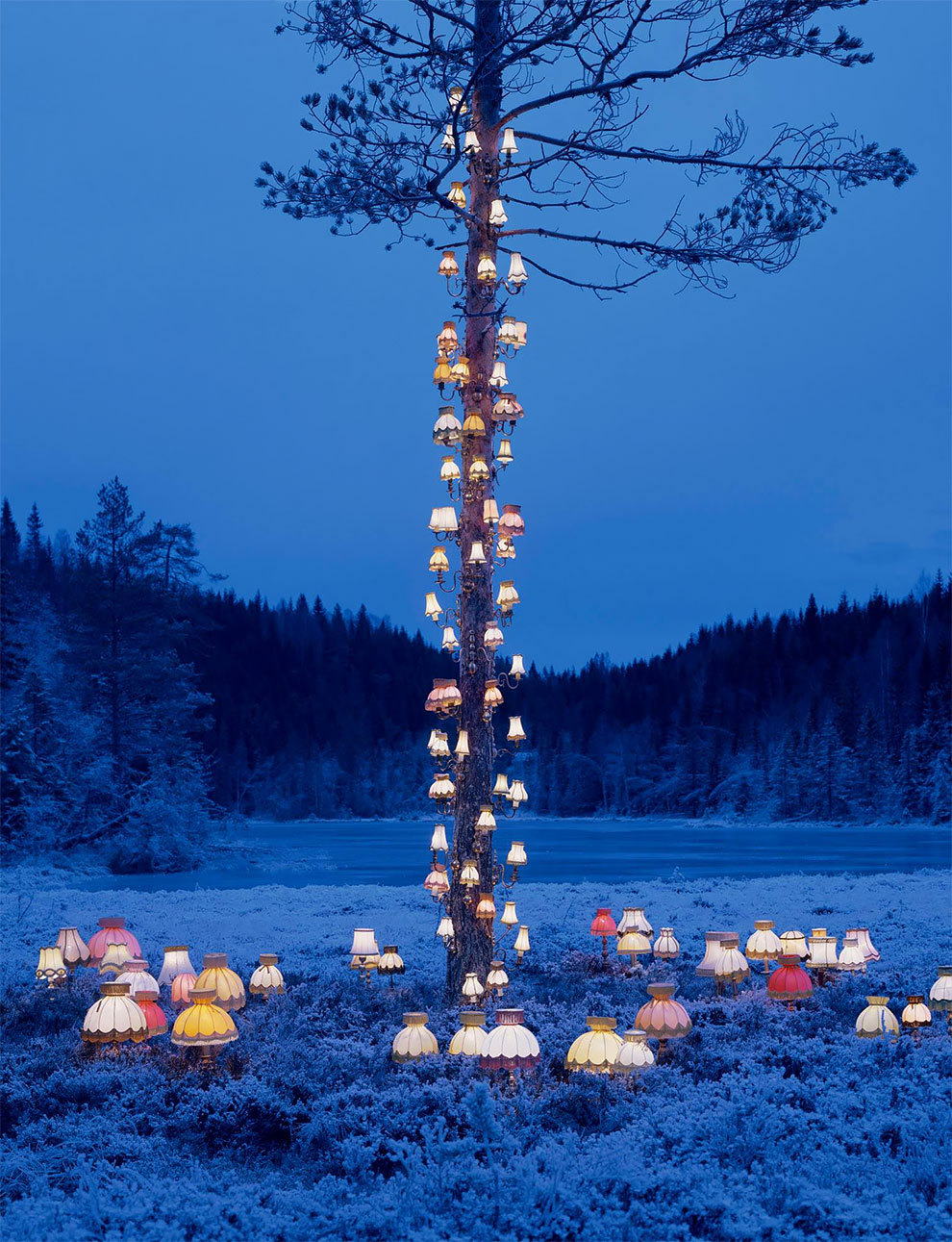 Rune Guneriussen Installation Art Forests Norway