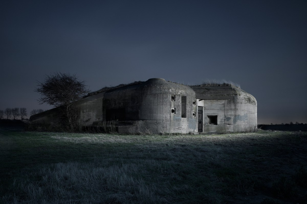 Jonathan Andrew World War 2 Bunkers