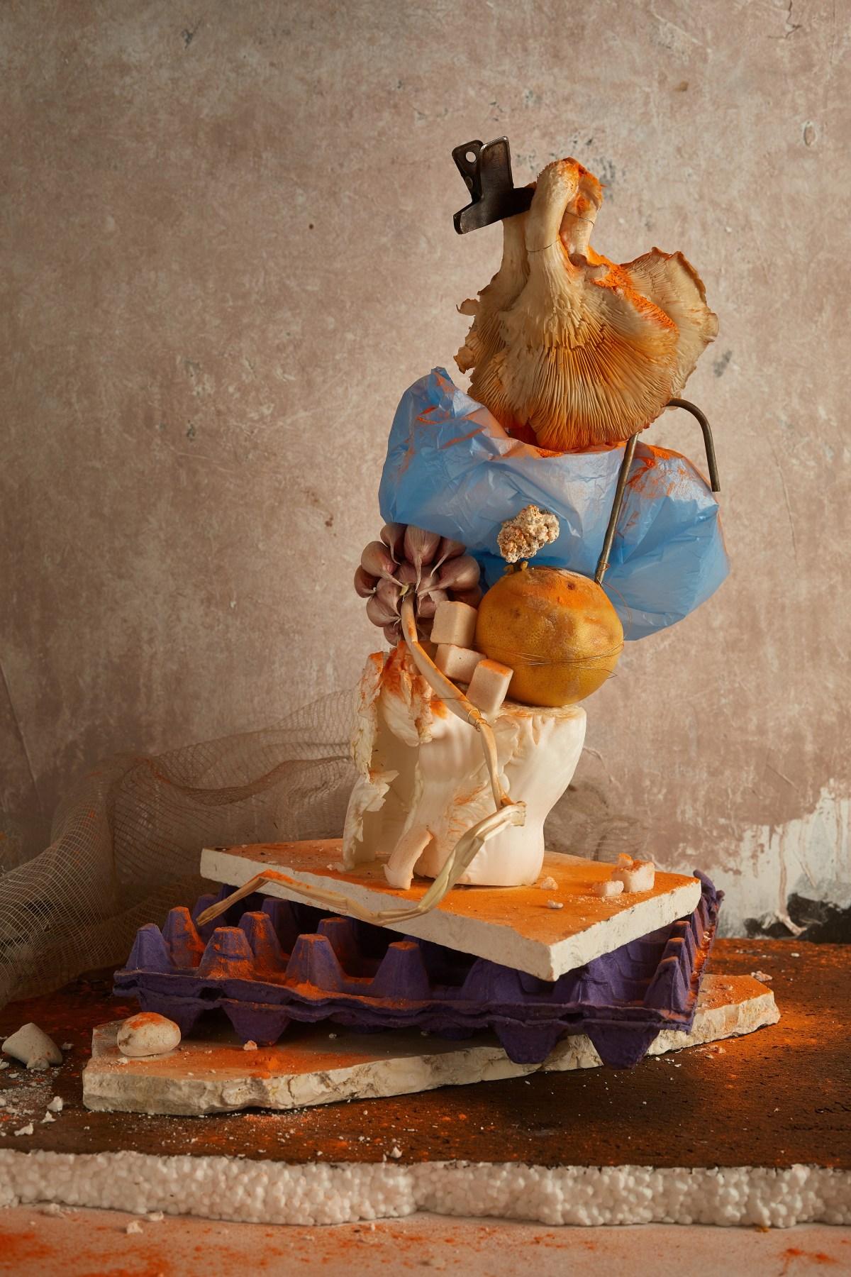 Experimental Food Sculptures