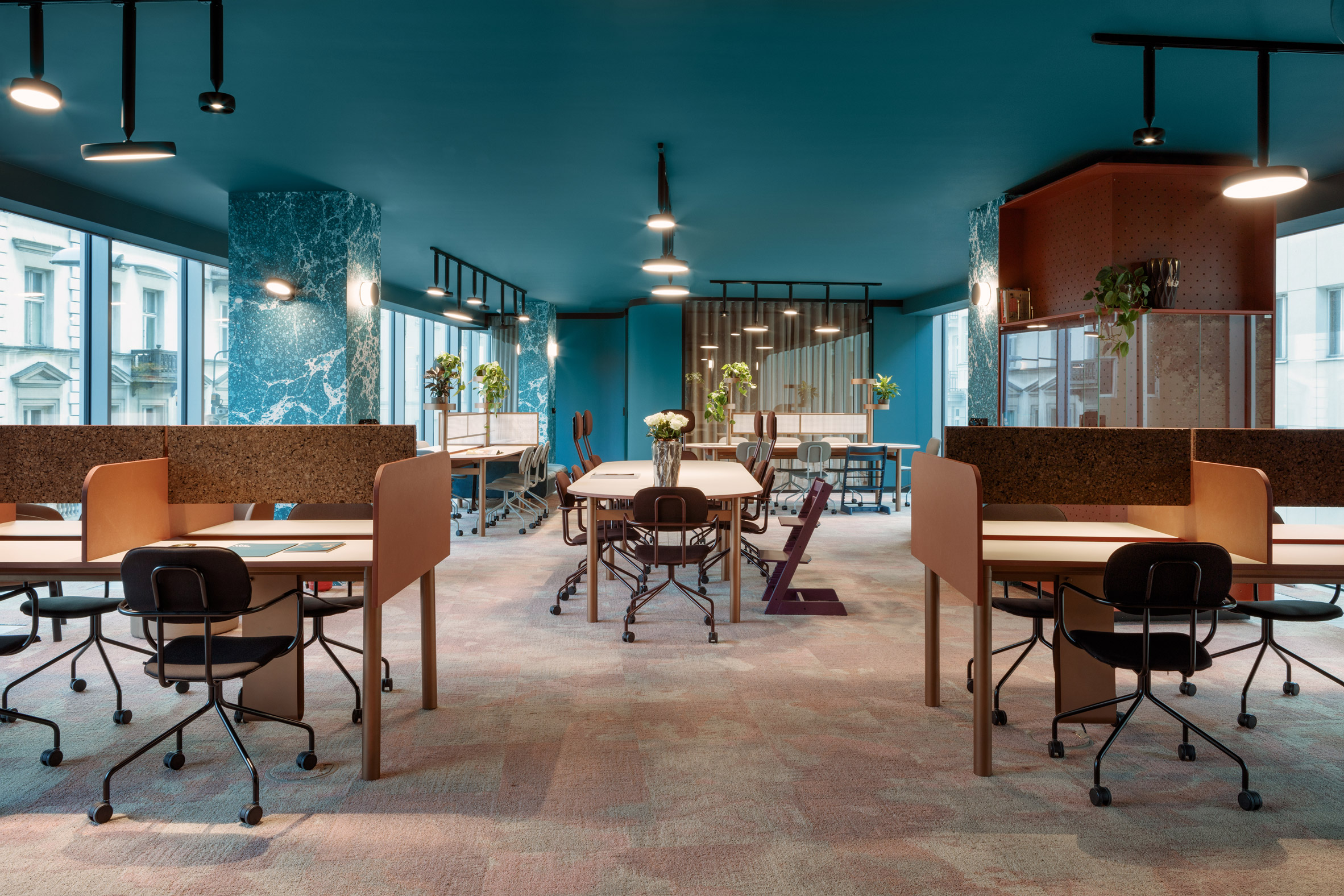 The Nest Beza Interiors & Beza Interiors Designs The Nest an Exceptional Coworking Space in ...