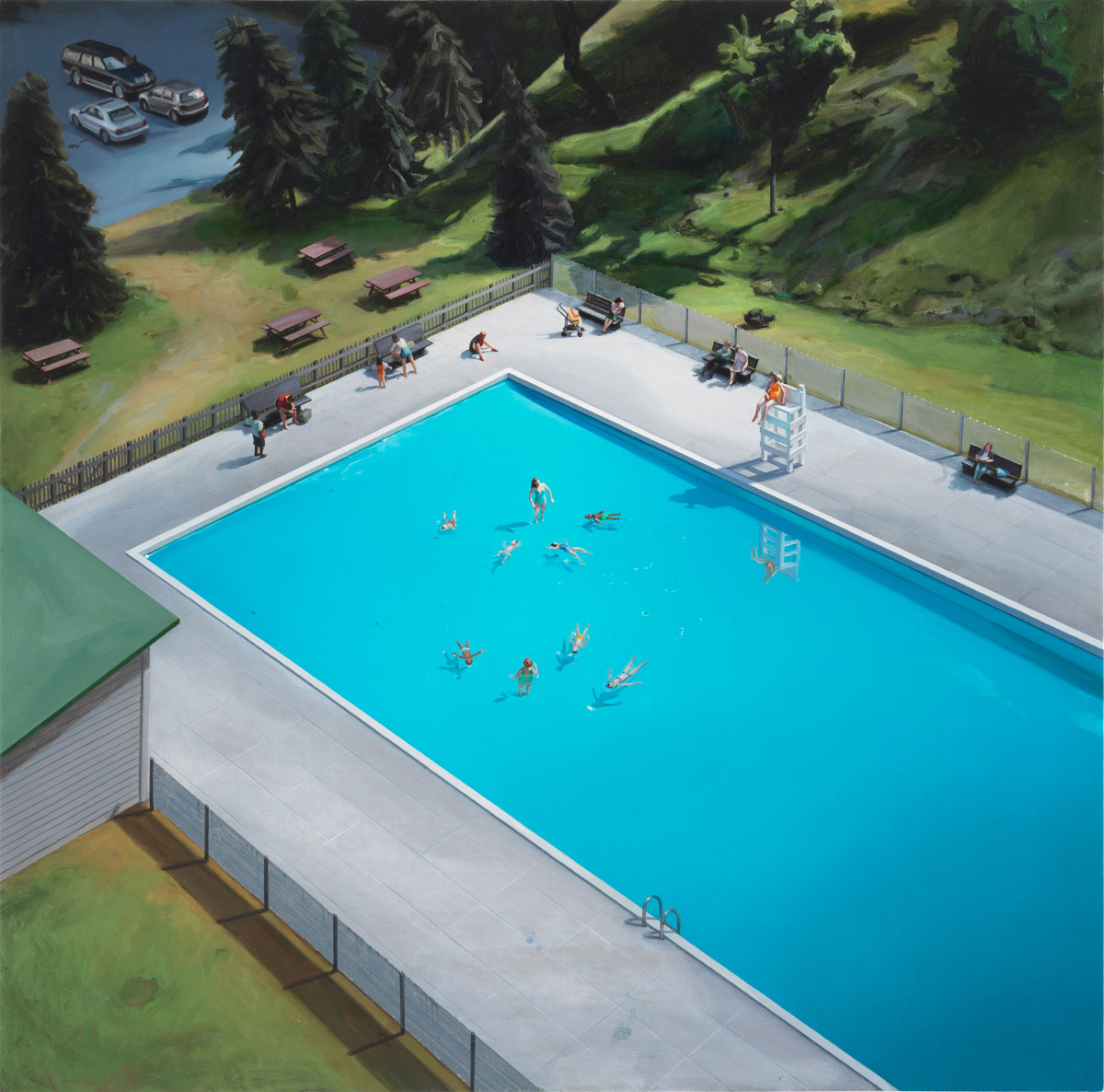 Artist Amy Bennett Paints Suburban America With the Help of
