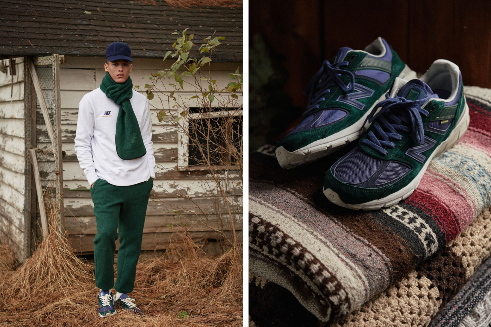 base Concesión Arte  NYC's Aime Leon Dore Win Autumnal Styling with its New Balance  Collaboration Campaign - PLAIN Magazine