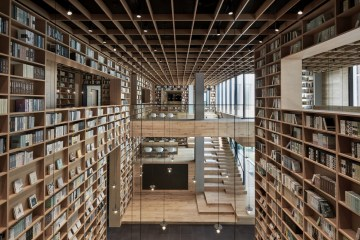 yue library Beijing Fengmuchen Space Design