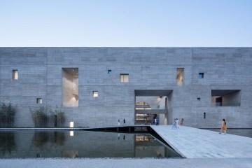 Studio Zhu Pei Shou County Art and Culture Center