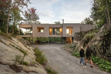 Natalie Dionne Architecture Forest House I