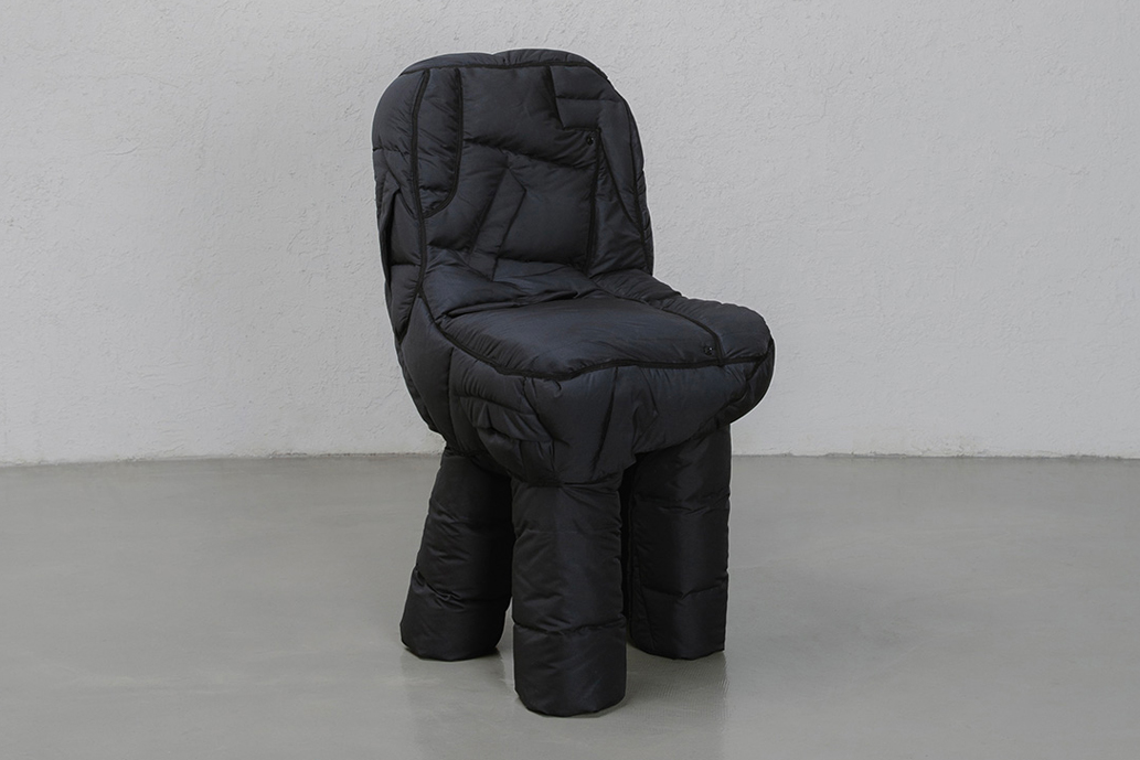 yeon jin-yeong recycled puffer chairs
