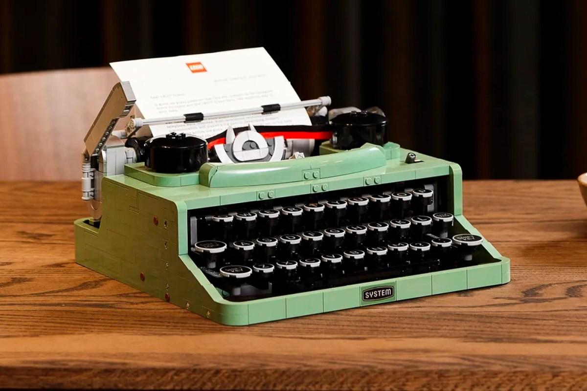 Lego Typewriter Kit